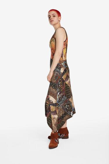 Long dress peaks skirt | Desigual