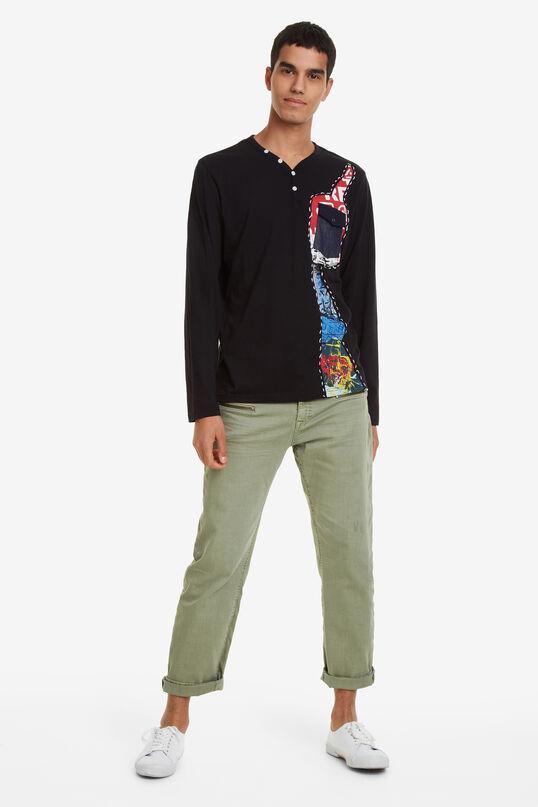 Arthur Denim Pocket T-shirt | Desigual