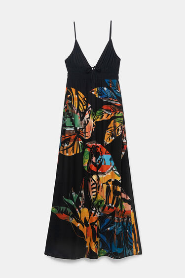 Long beach dress | Desigual