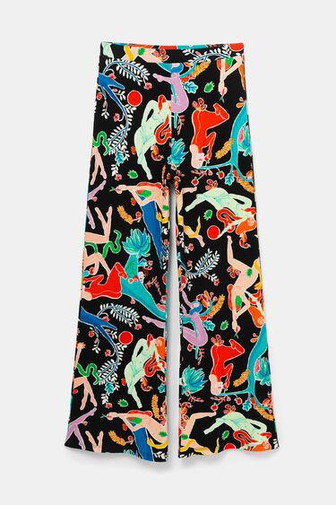 Spodnie typu palazzo | Desigual