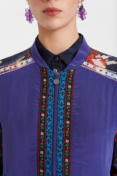 Bomber jacket with oriental print | Desigual