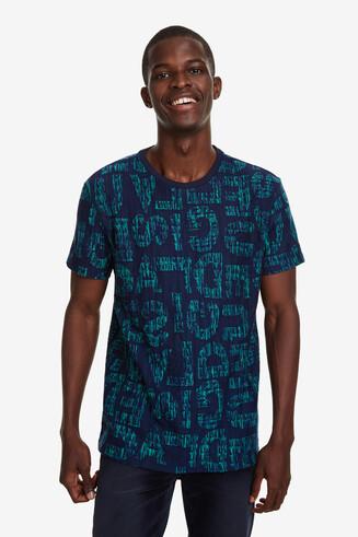 T-shirt slim logomaniaque