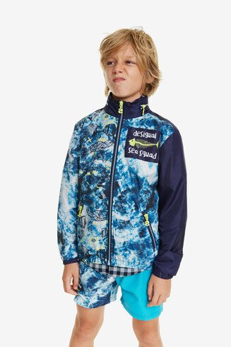 Windjacke mit Meeresmotiven Games