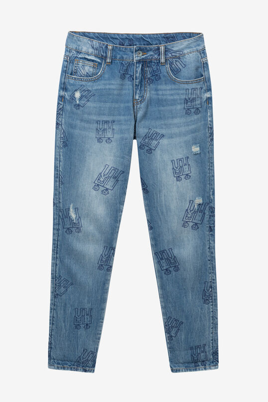 Robots denim jeans | Desigual