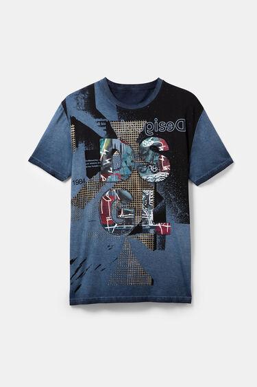 Camiseta parches 100% algodón | Desigual