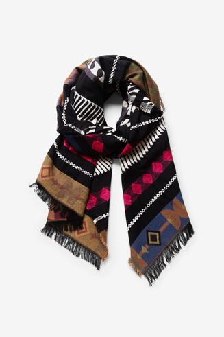 Fulard sanefes africanes