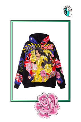 Japanischer Oversize-Sweater