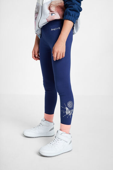 Positional print basic leggings | Desigual