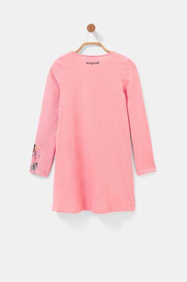 Vestido tipo t-shirt floral | Desigual