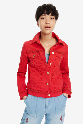 Red Country Jacket Scarlet