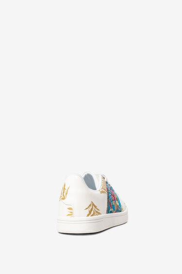Sneakersy z bocznymi paskami   Desigual