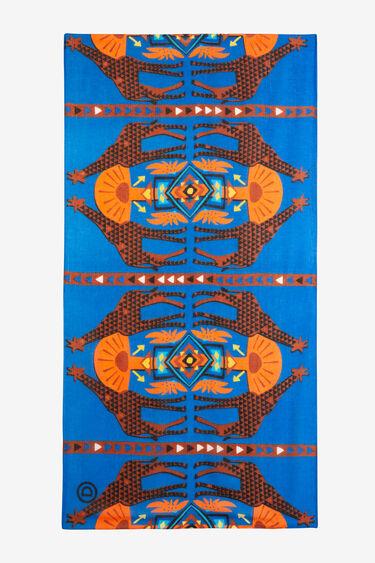 Etnische sjaal met giraffes | Desigual