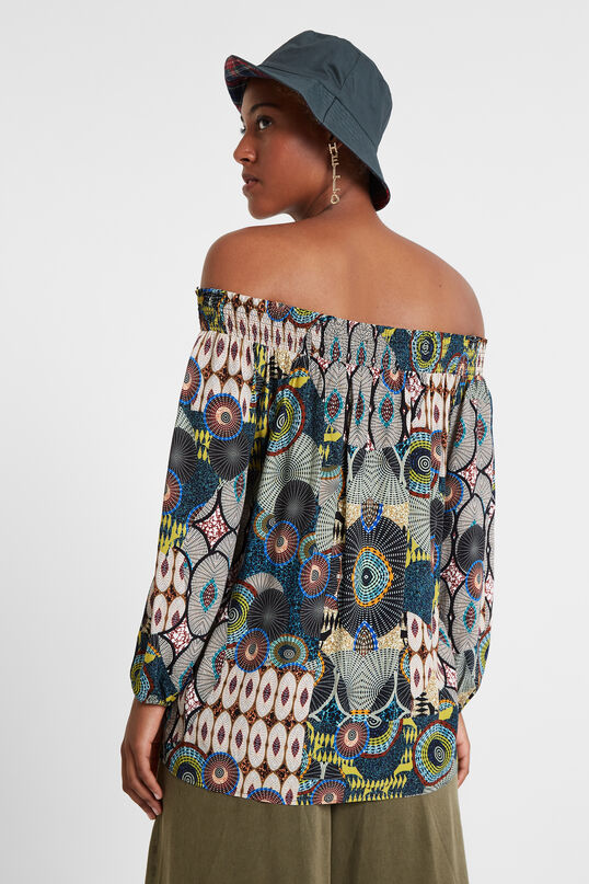 Off shoulder blouse | Desigual