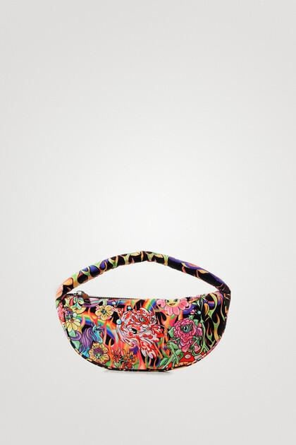 Flame sling handbag