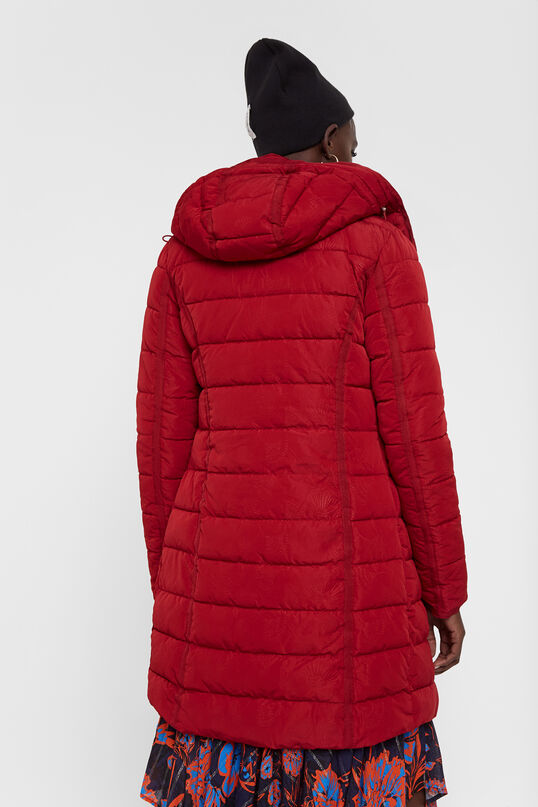 Long padded jacket   Desigual