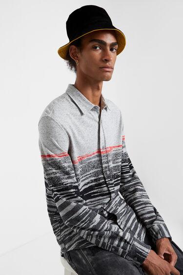 Slim long-sleeve shirt | Desigual