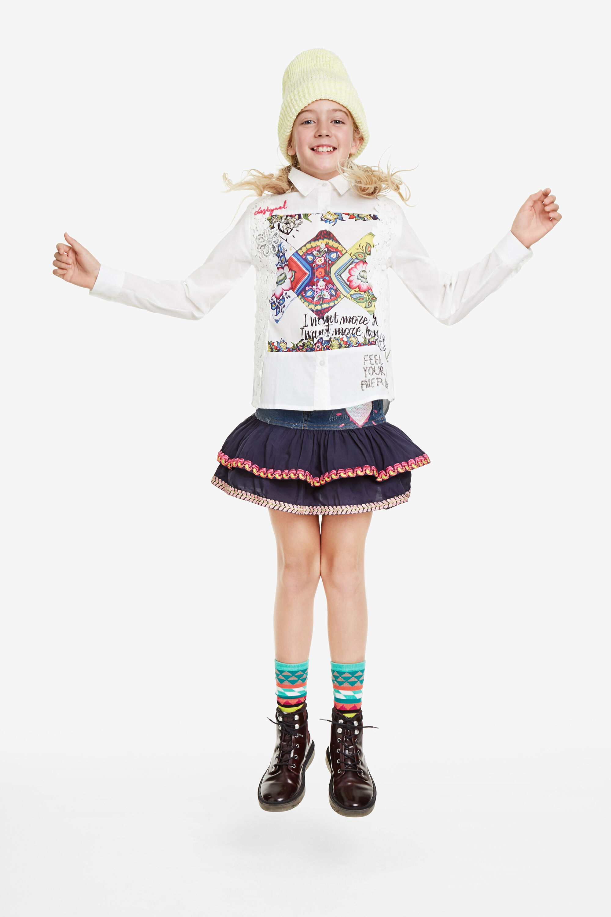 sac desigual collection hiver, Desigual Fille Shorts