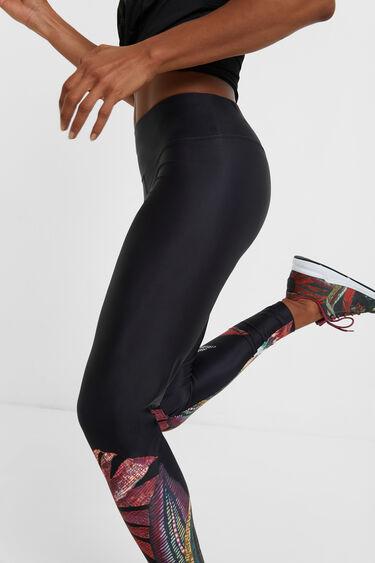 Sport leggings elastic waist | Desigual