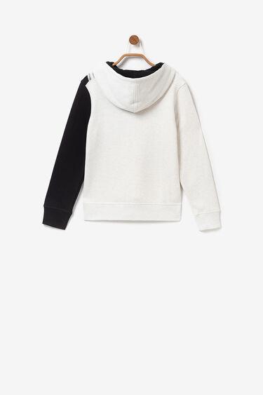 Minime sweatshirt print trompe l'oeil | Desigual