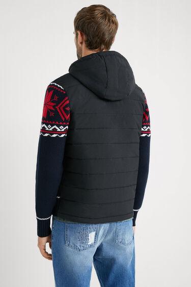 ニット フードジャケット | Desigual