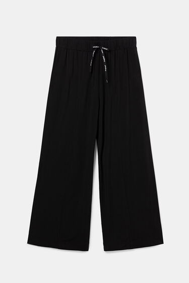 Flowing trousers with drawstring | Desigual