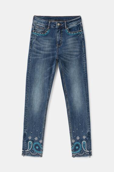 Enkellange skinny jeans | Desigual