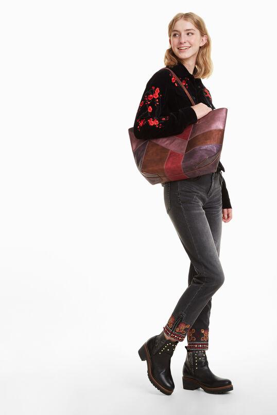 Ares Capri Zipper Bag | Desigual