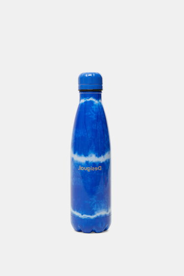 Stainless steel bottle tie-dye | Desigual