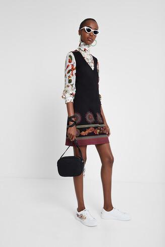 Korte boho-jurk