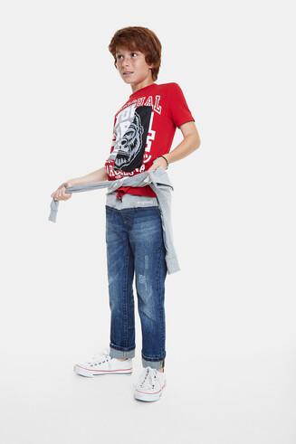 T-shirt sportif à patch