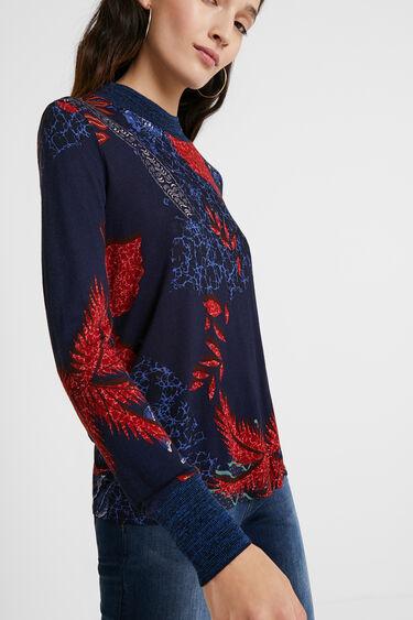 Slim tropical T-shirt | Desigual