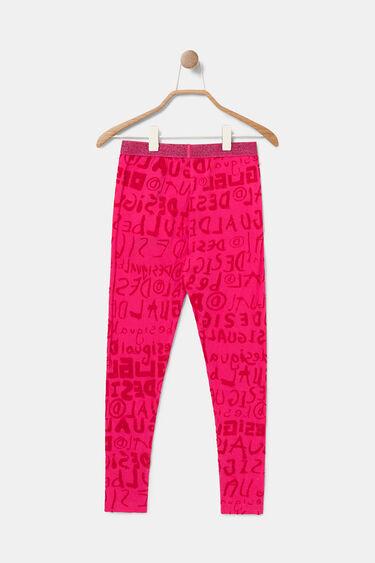 Leggings logotip cintura elàstica | Desigual