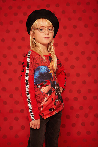 Camiseta oversize Lady Bug