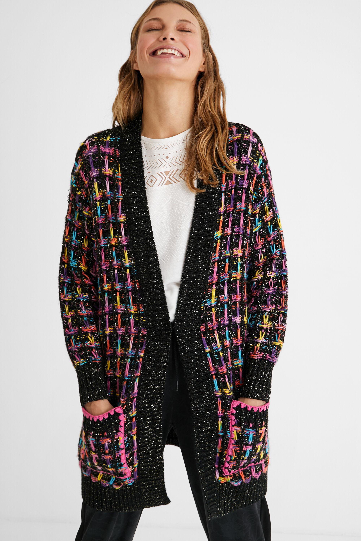 Cardigan oversize tricot | Desigual