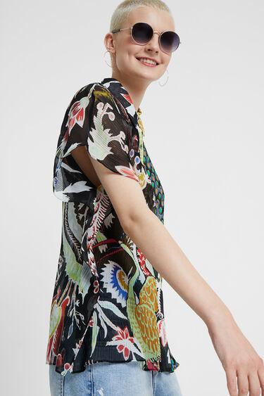 Camisa mitja taronja Designed by Mr. Christian Lacroix | Desigual