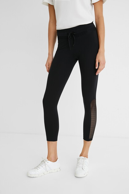 Lange Leggings mit Kordel