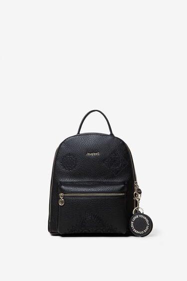 Mini backpack embossed mandalas | Desigual