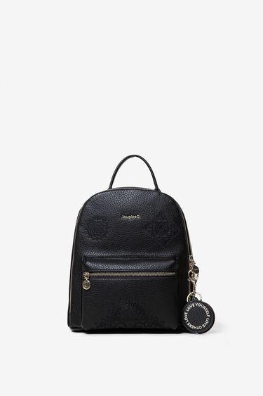 Mini sac à dos à mandalas en relief | Desigual