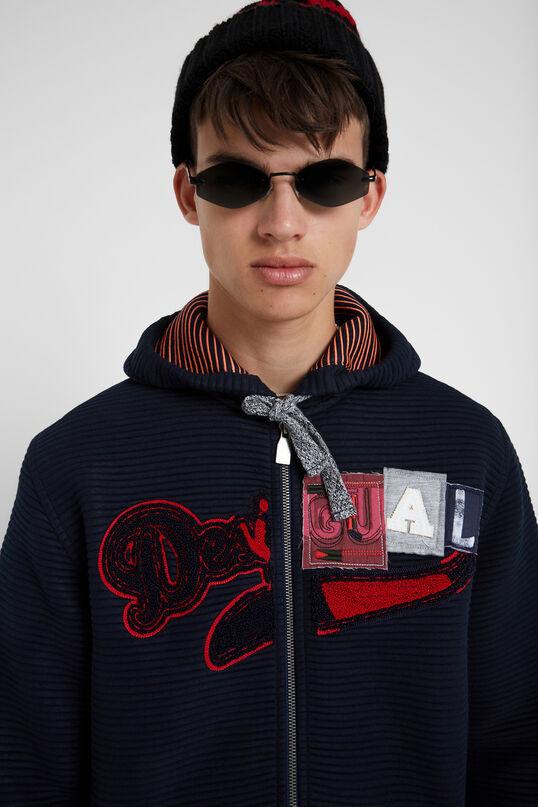 Jaqueta dessuadora caputxa | Desigual