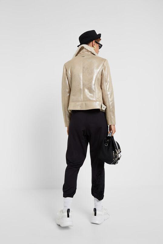 Glitter effect jacket   Desigual