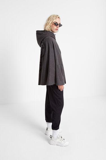 Cloth poncho hood | Desigual