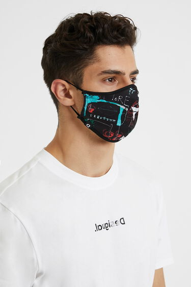 Love reversible mask + pouch | Desigual