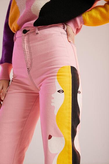 Cropped culottes | Desigual