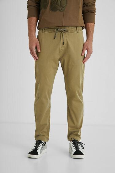 Pantalons slim amb cordó per a noi | Desigual