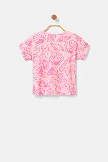 T-shirt seabed and sequins | Desigual