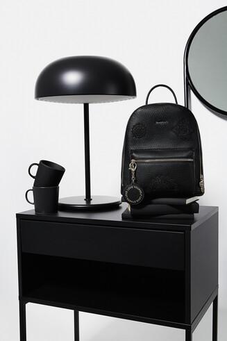 Mini backpack embossed mandalas