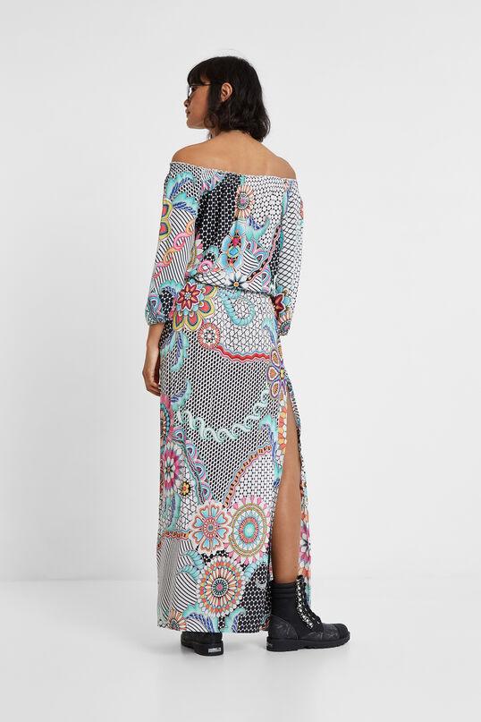 Long floral dress Dera   Desigual