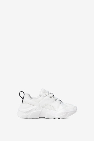 Sneakers chunky blanques