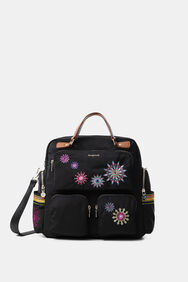 Retro backpack with mandalas | Desigual