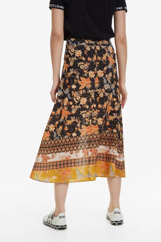 Printed Japanese skirt | Desigual